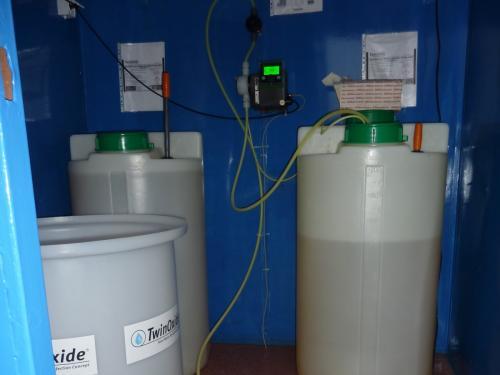 Vízkezelés adagolás TwinOxide
